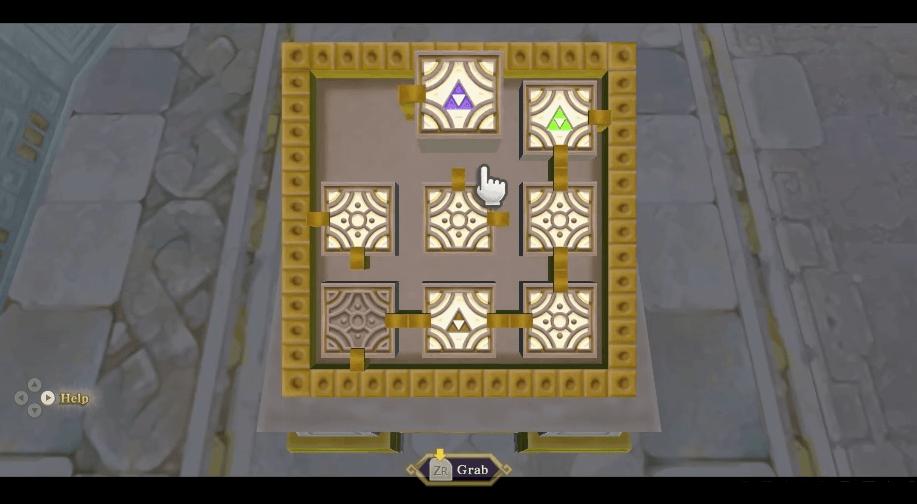 The Legend of Zelda: Skyward Sword sky keep puzzle