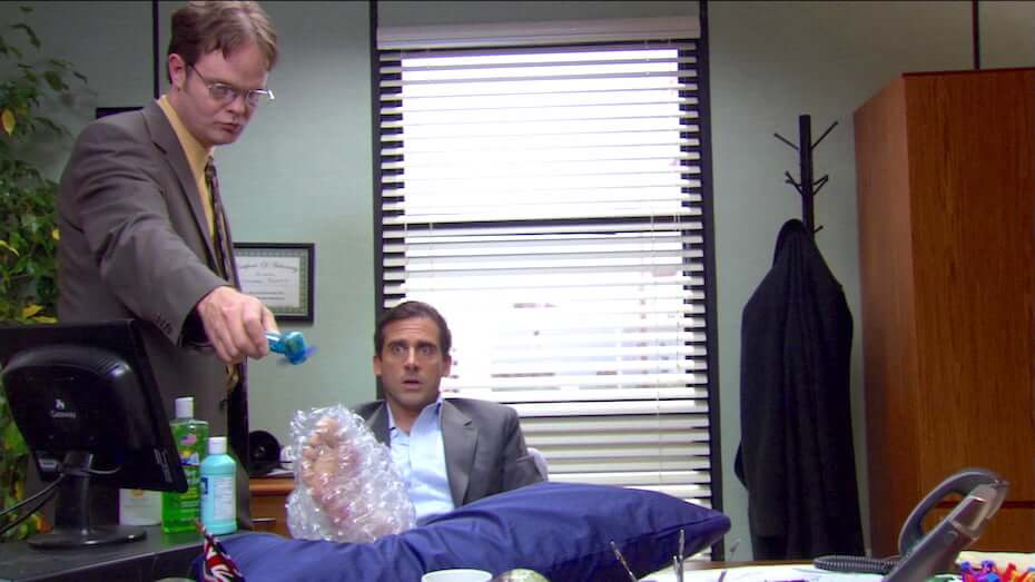 The Office: Michael's injury