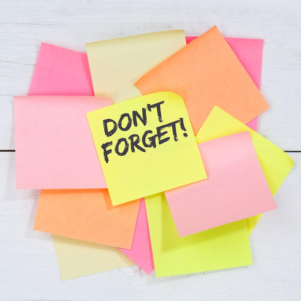 Shuttershock Reminders