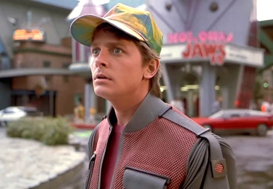 Back to the Future Part II: Marty McFly in the year 2015