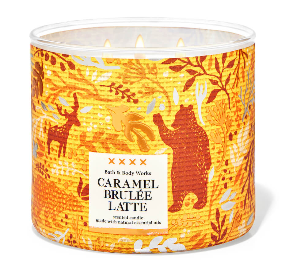 Bath and Body Works caramel brulee candle