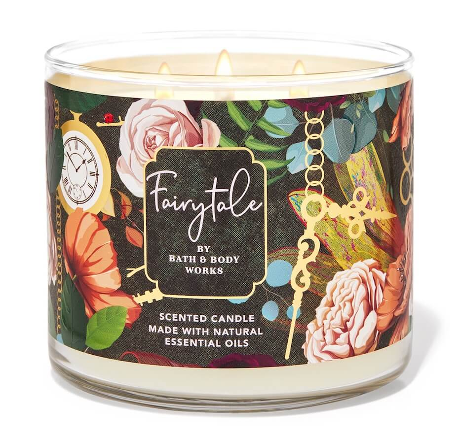 Bath and Body Works fairytale candle