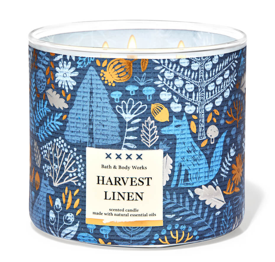 Bath and Body Works harvest linen