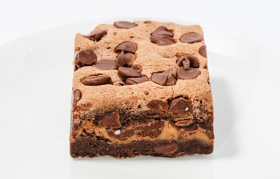 foxtrot triple chocolate brownie