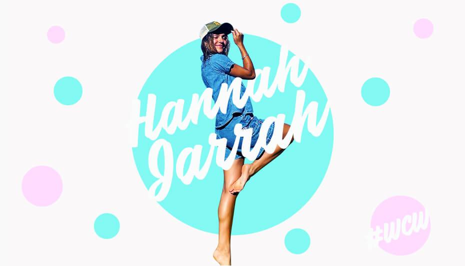 Hannah Jarrah Woman Crush Wednesday