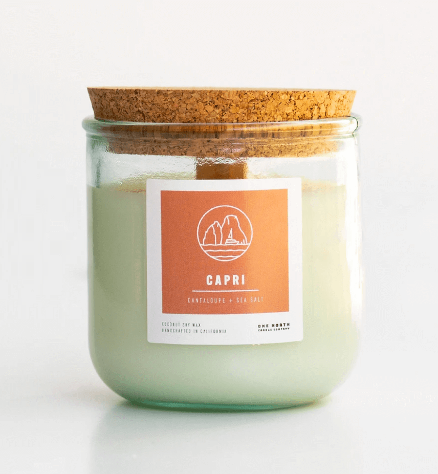 One North Candle Co. Capri Candle