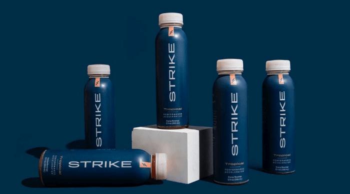 strike beverage workout performance accelerator