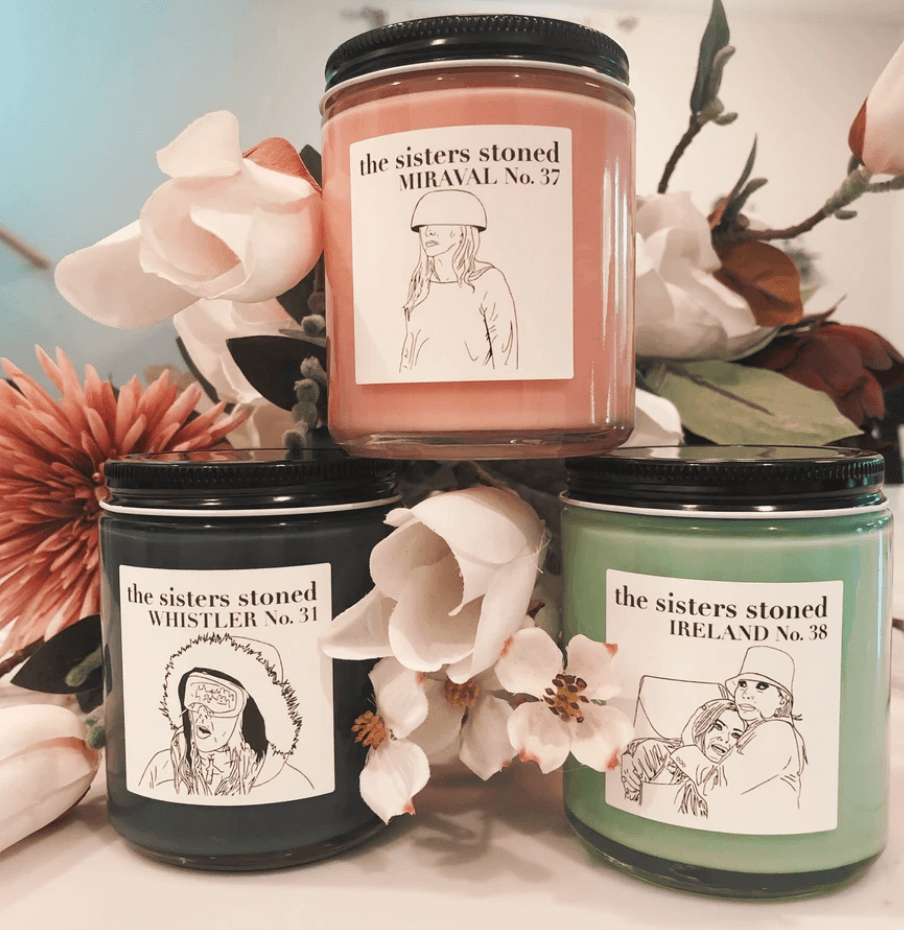 The Sisters Stoned Housewives Candles