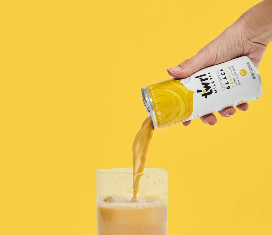 Twrl Milk Tea original black tea