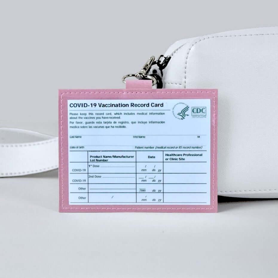 vida vaccination card holder
