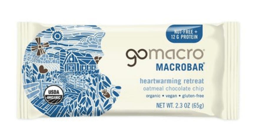 GoMacro Oatmeal Chocolate Chip Bars