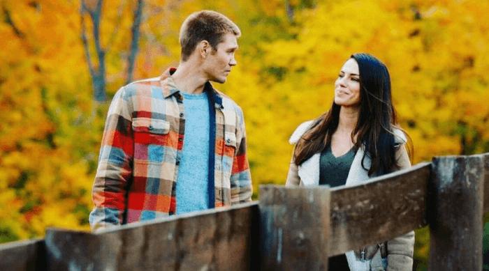 an autumn romance holiday movie