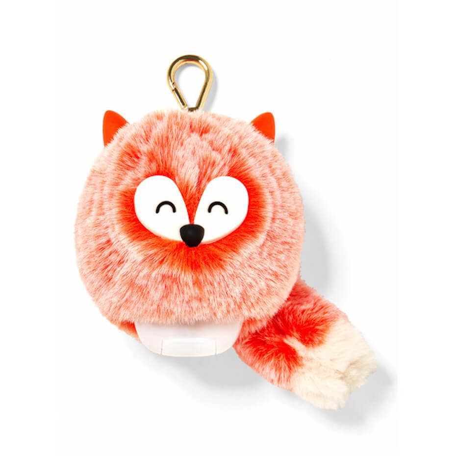 bath and bodty works fox pom pocketbac holder