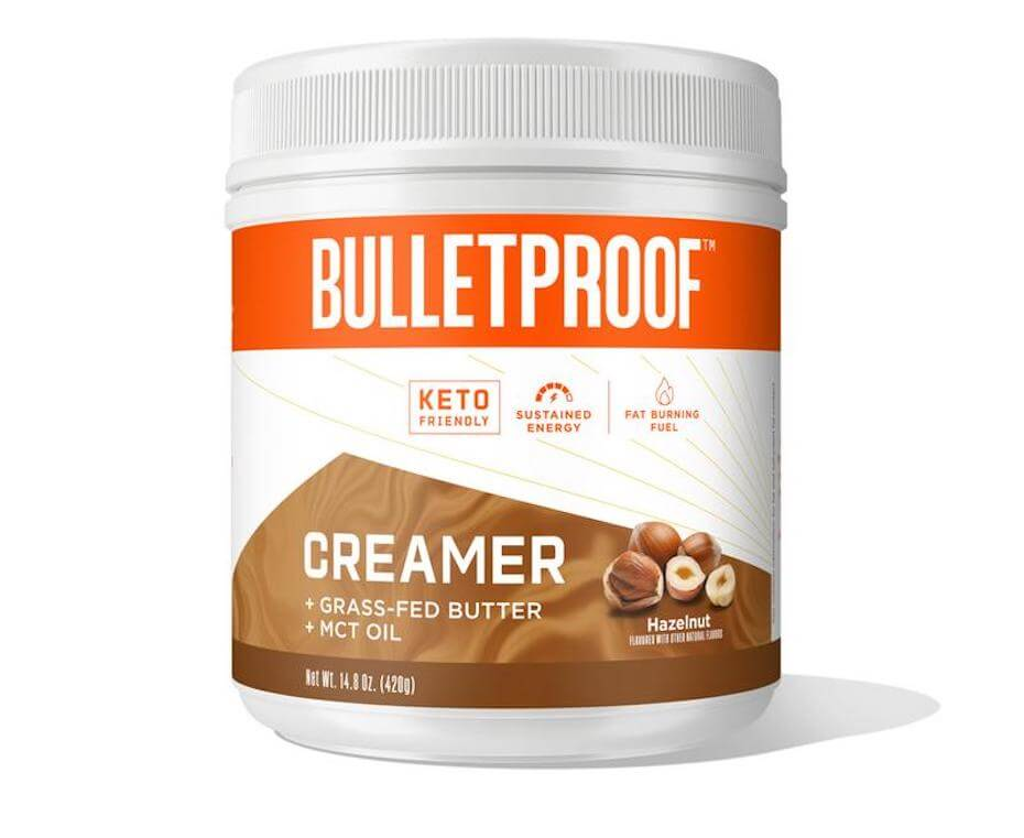 bulletrpoof hazelnut creamer