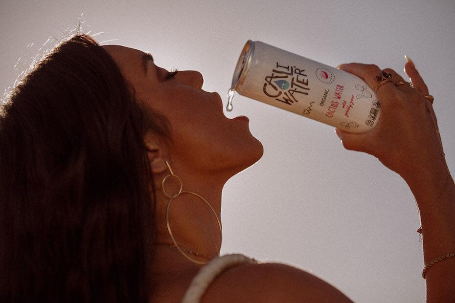 caliwater vanessa hudgens drinking