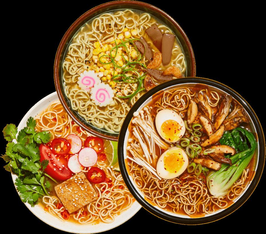 immi eats variety soups