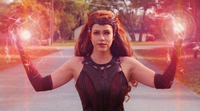 Instagram @brirose_arts wandavision cosplay