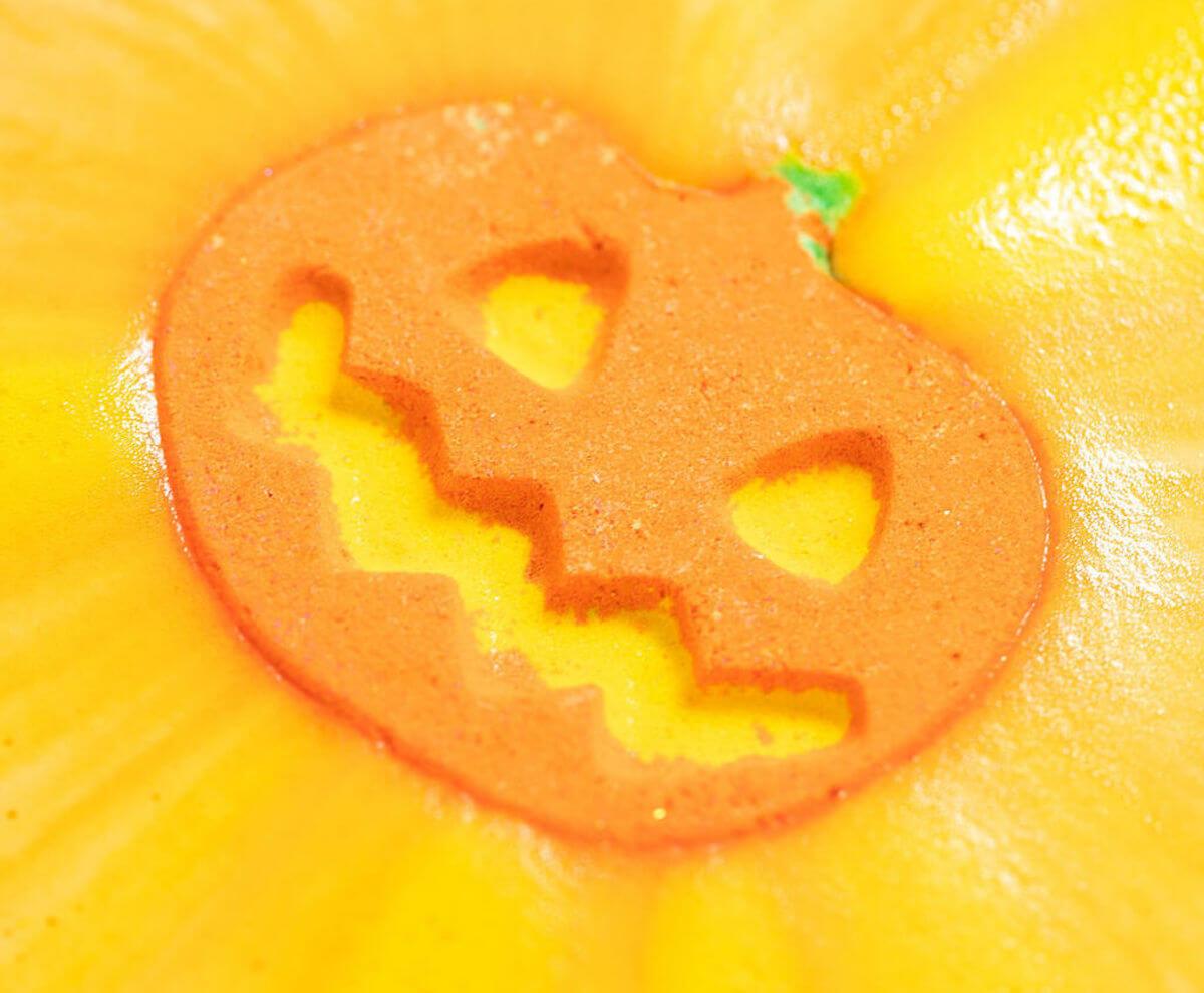 Lush punkin pumpkin bath bomb