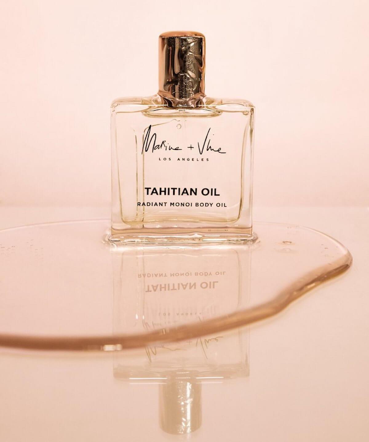 Marine + Vine tahitian body oil