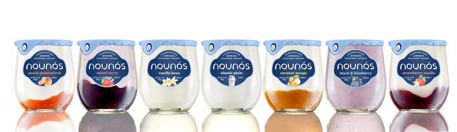 Nounos creamery yogurts