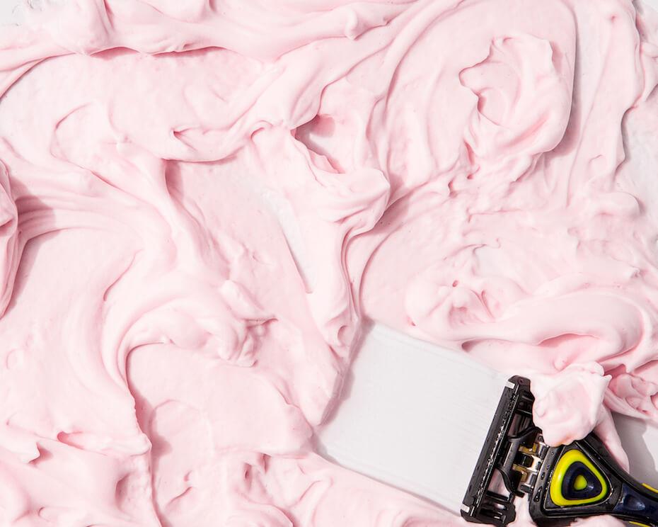 Pacific Shaving Co. shavewithpurpose pink shaving cream
