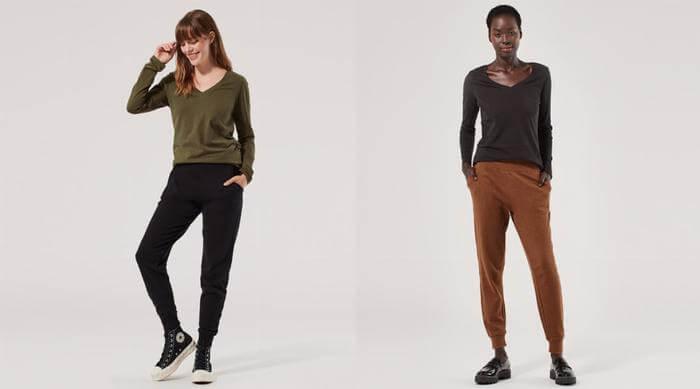Pact Apparel organic top and pants