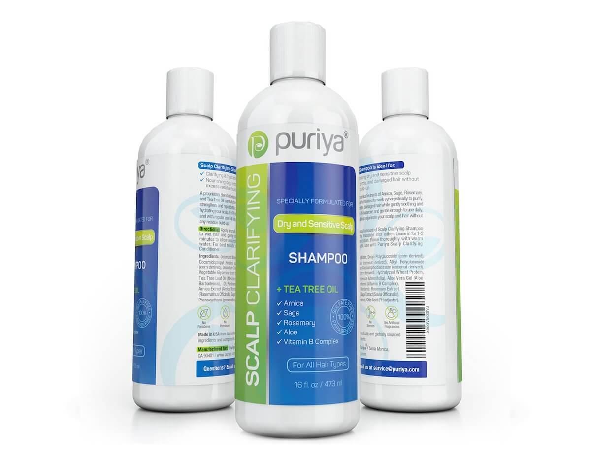Puriya scalp clarifying shampoo