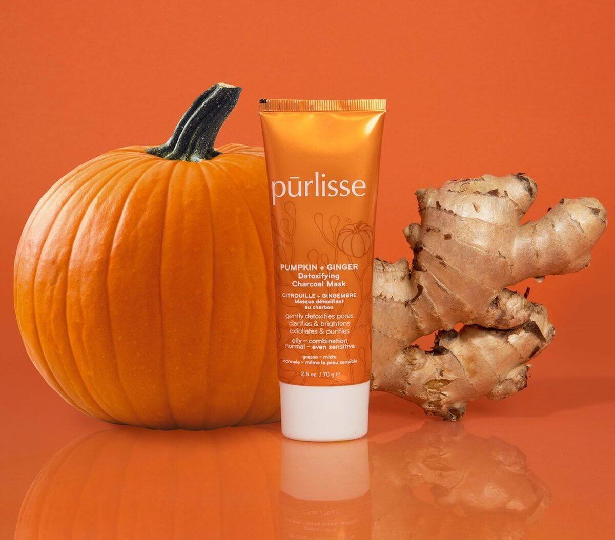 purlisse pumpkin ginger mask