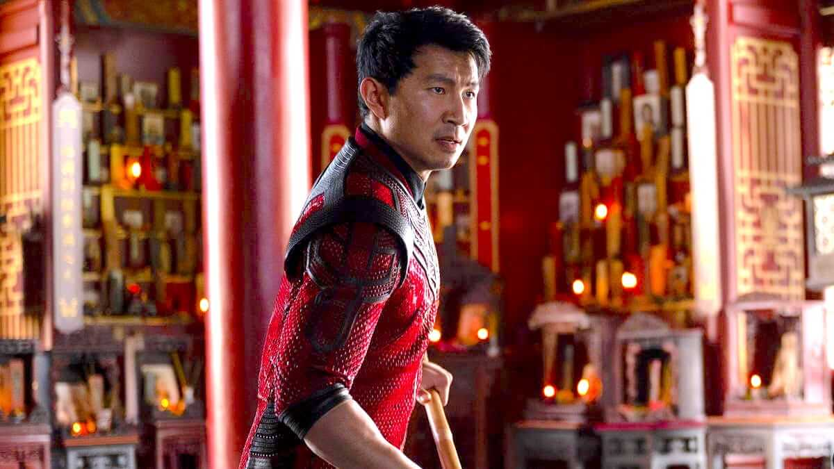 Shang-Chi red costume