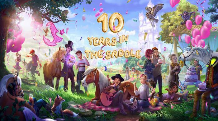 Star Stable 10 years in the saddle