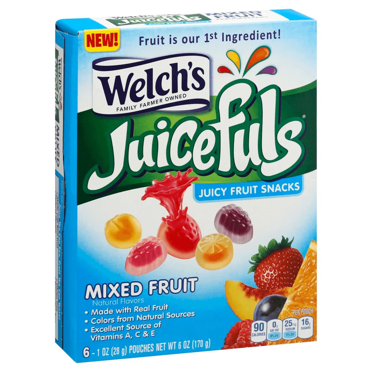 welchs juicefuls fruit snacks