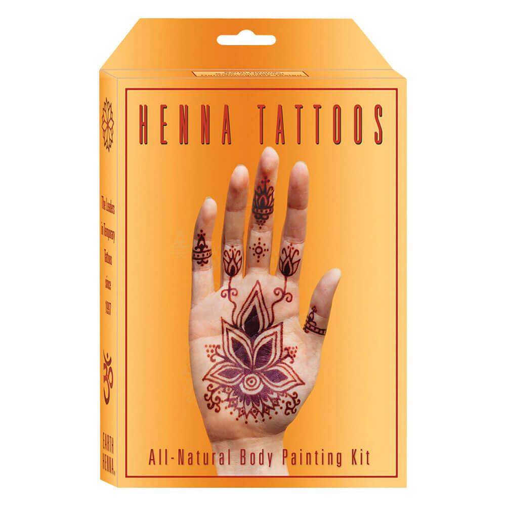 Earth henna box