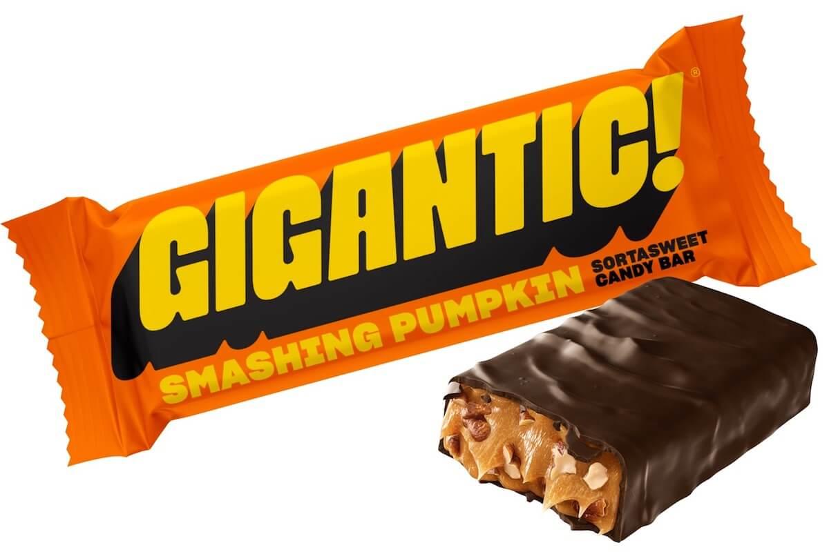gigantic smashing pumpkin candy bar
