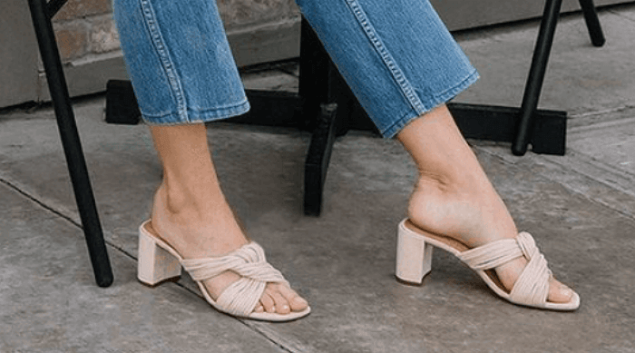 heeled sandals shoes