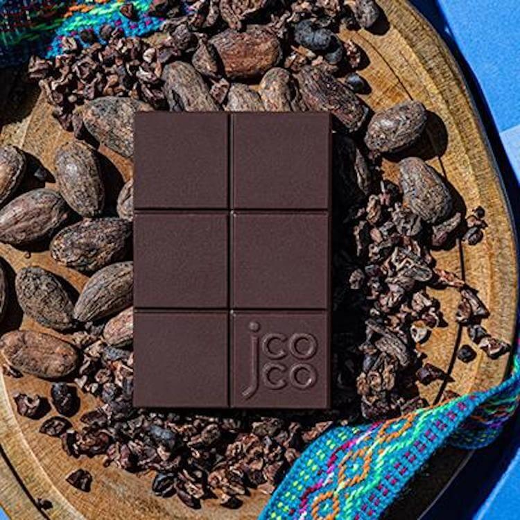 jcoco single varietal contamana cacao chocolate bars
