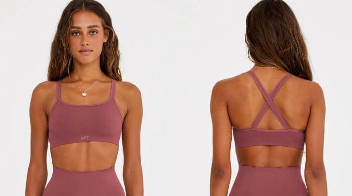 set active sports bra
