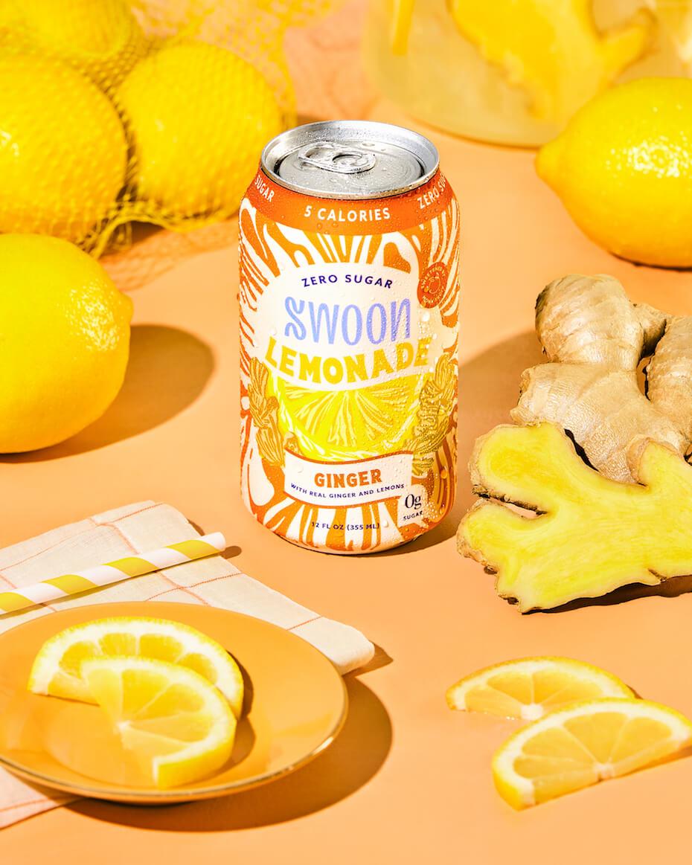 Swoon ginger lemonade