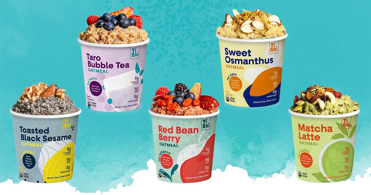 Yishi oatmeal five flavors